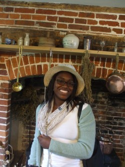 At Jane Austen's House Museum in Chawton