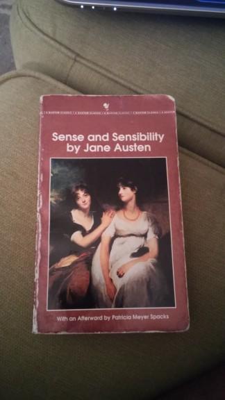 My beat up copy of Sense and Sensibility
