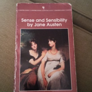 My beat up copy of Sense and Sensibility