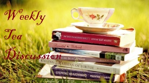 Weekly Tea Discussion: Print vs. E-Books