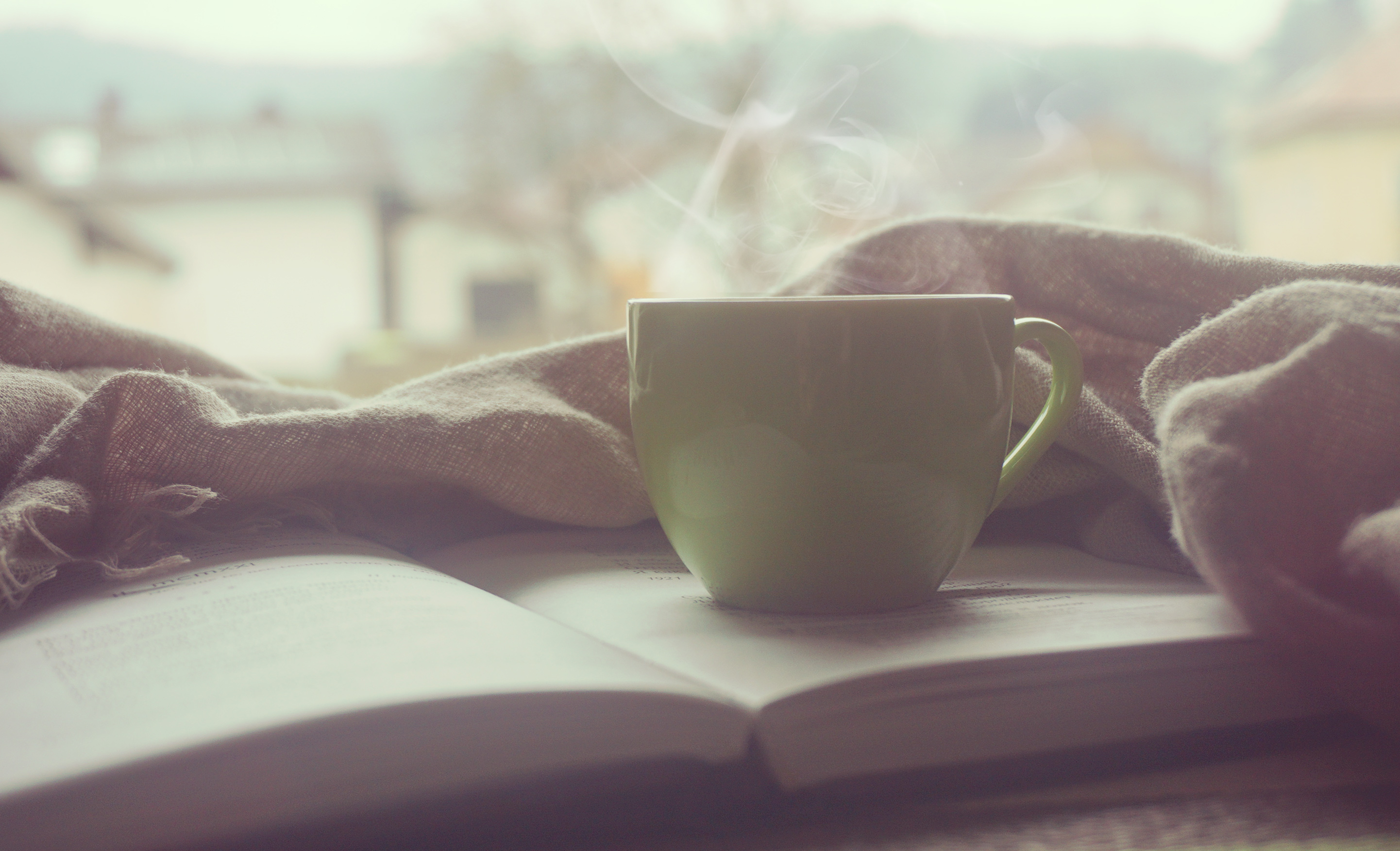 cup of tea with that book, please