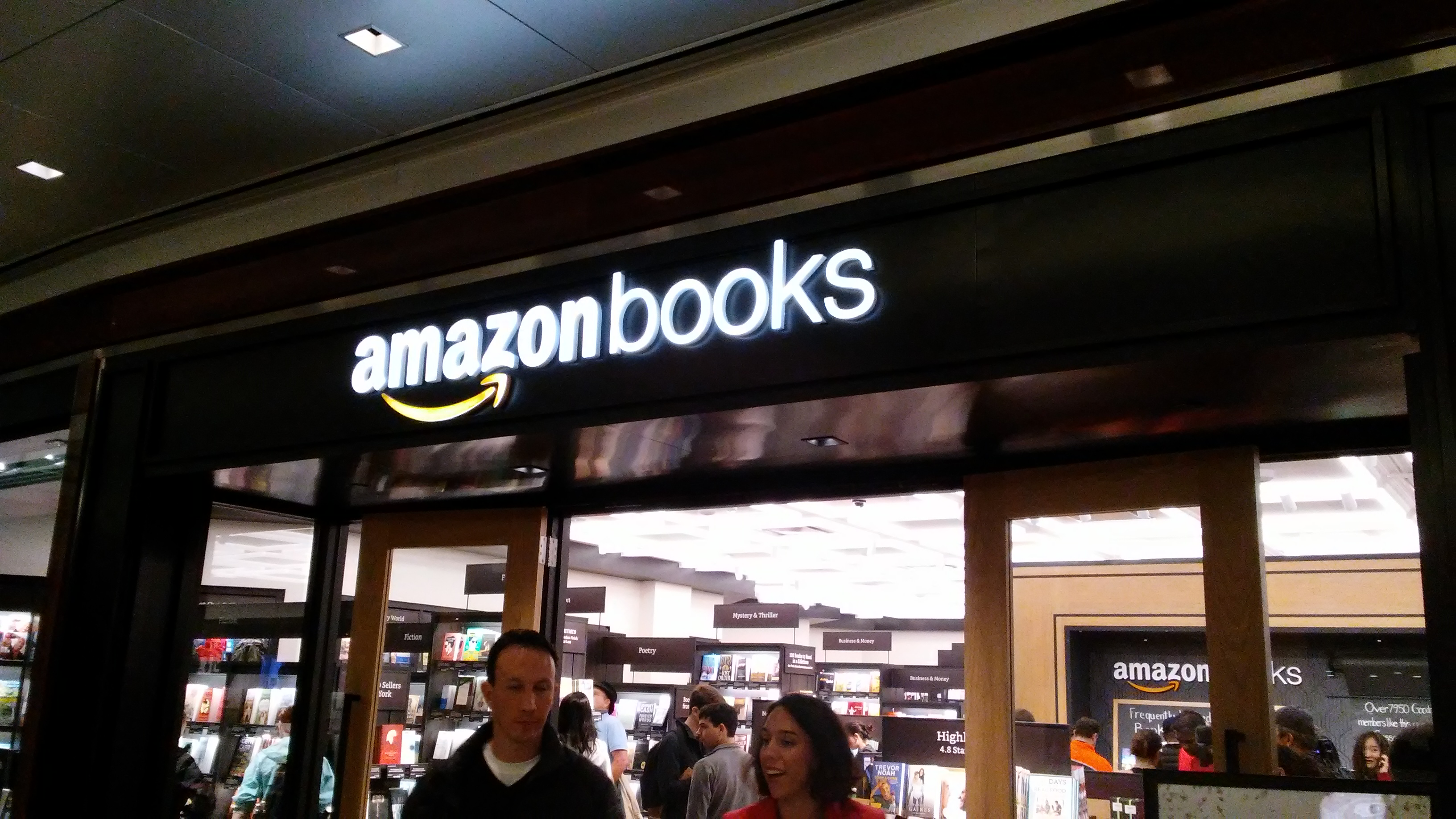 Amazon Books in New York