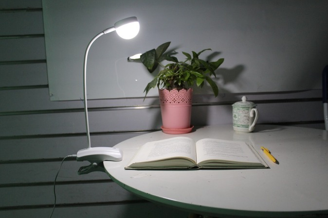 Learning Open The Book Nightlight Table Lamp Reed