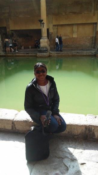Me at the Roman Baths
