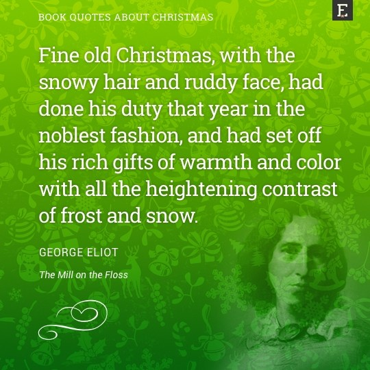 Book-quotes-about-Christmas-George-Eliot